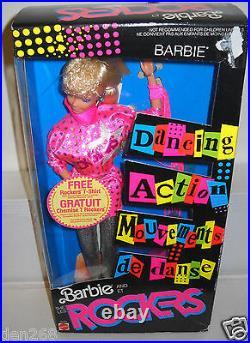 #8617 NRFB Vintage Mattel Barbie et Les Rockers Foreign Issue