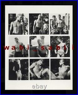 Brooklyn Boys les demi dieux vtg 50s NY Beefcake Male Physique rare gay art sale