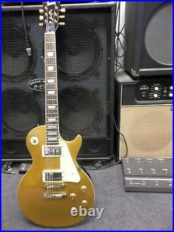 Burny/Fernandes RLG55 2009VGT Gold top Les Paul padded gigbag, new waranteed
