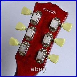 Burny SRLG55 Vintage Cherry Sunburst Les Paul Type Electric Guitar