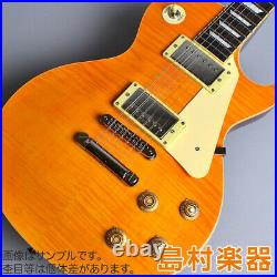 Burny SRLG55 Vintage Lemon Drop Les Paul Type Electric Guitar from Japan