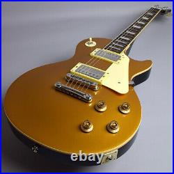 Burny Srlg55 Vintage Gold Top Beginner 14 Pieces Set With Marshall Amplifier Les