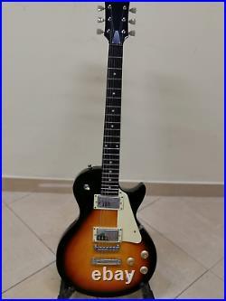 Chitarra Elettrica Sunburst Les Paul Vintage 6 Corde