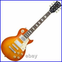 GRASSROOTS Electric Guitar G-LPS-MINI VHB Les Paul Type Built In Speaker NEW
