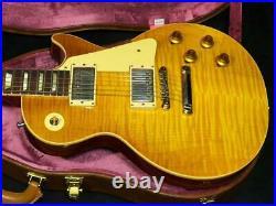 Gibson Custom Shop 60th Anniv 1959 Les Paul Standard Vintage Lemon Burst VOS