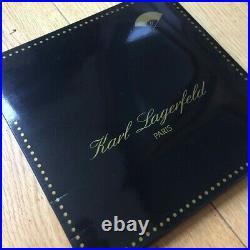 Karl Lagerfeld'Les Souliers du Temps Passe' Silk Scarf Vintage Collectible