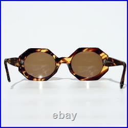 LES COPAINS LC130 Occhiali sole SUNGLASSES SONNENBRILLEN Vintage AGES NERD 11 DE