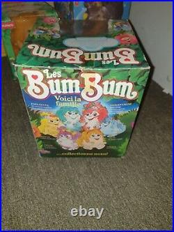 Les Bum-Bum vintage Papa Gentil BOX VF FRA / REF 25691 1984 / NEUF NEW