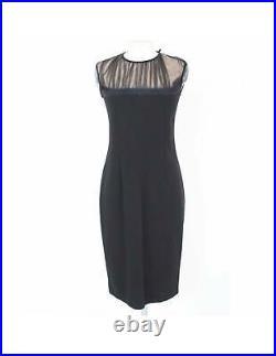 Les Copains Set Dress Sheath Dress Bolero Vintage Black