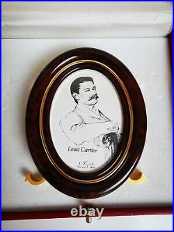 Les Must De Cartier Vintage Brown Photo Frame in original box. NEW
