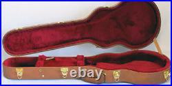 Mint Gibson USA Les Paul Custom HardShell Guitar Case Vintage Brown 90's ReIssue