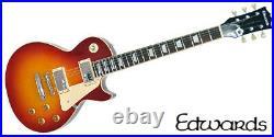 NEW EDWARDS E-LP-125SD Cherry Sunburst Les Paul Electric Guitar