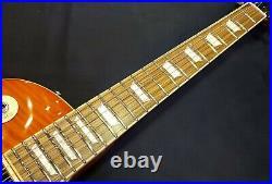 NEW Edwards / ESP E-LP-125SD Limited Model Vintage Honey Burst Les Paul