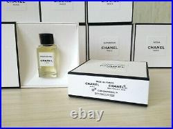 RARE LUXURY VINTAGE FRAGRANCE SET CHANEL LES EXCLUSIFS of 8 EDTx4 ml Sycomore