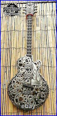 Scrap Metal Gibson Les Paul Art Sculpture Commission