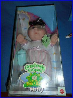 Süße Mattel Puppe Cabbage Patch Kids Les Copinoux BEBE BABY Neu u. OVP
