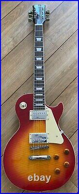 Tokai UALS 62 Les Paul Vintage Cherry Flame Burst