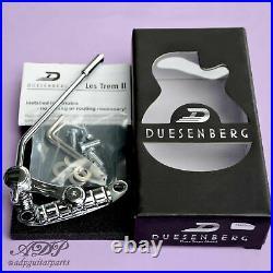 Tremolo Duesenberg Les Trem II Gaucher Les Paul Guitar Chrome TM85LC Lelt Handed
