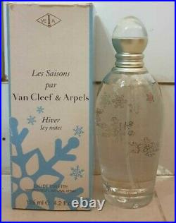Van Cleef & Arpels Les Saisons Hiver Icy Notes 125 ML Vintage Discontinued