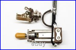 Vintage Gibson Style Prewired Toggle Switch Assembly For Les Paul Corse Nut Tip