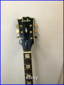 Vintage Guitar Selmer Saxon Les Paul Rare, 70s, New Strings + Gig Bag GSP