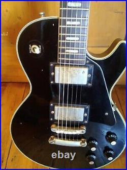 Vintage Guitar Selmer Saxon Les paul 70s Japan Mij new Strings serviced