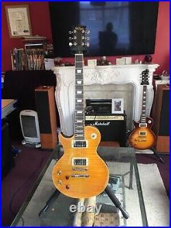 Vintage Guitars Lemon Drop Les Paul Guitar Left Handed