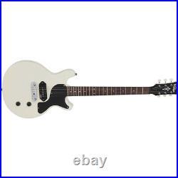 Vintage Reissued V130VW Vintage White Les Paul Jr. Electric Guitar