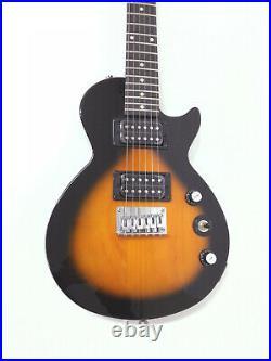 Vintage Sunburst Epiphone Traveler Size Les Paul Express Electric Guitar Pack