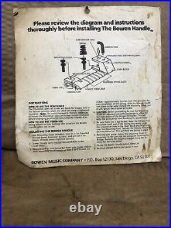 Vintage The Bowen Handle Tremolo Vibrato Les Paul SG Tailpiece New Gold NOS #11