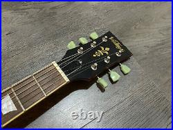 Vintage V100 Icon Distressed, Les Paul Guitar, Brand New