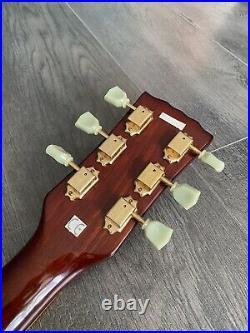 Vintage V100, Left Handed Les Paul Guitar, Vintage Les Paul With Hard Case