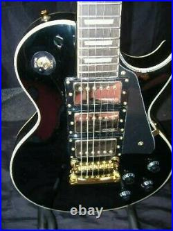 Vintage V1003bb Black Beauty Les Paul Only £289 With Free Pnp