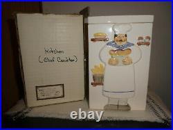Vtg Les Artisans Sigma Tastsetter Chef Canister Towle Co. 2738294243 N/box